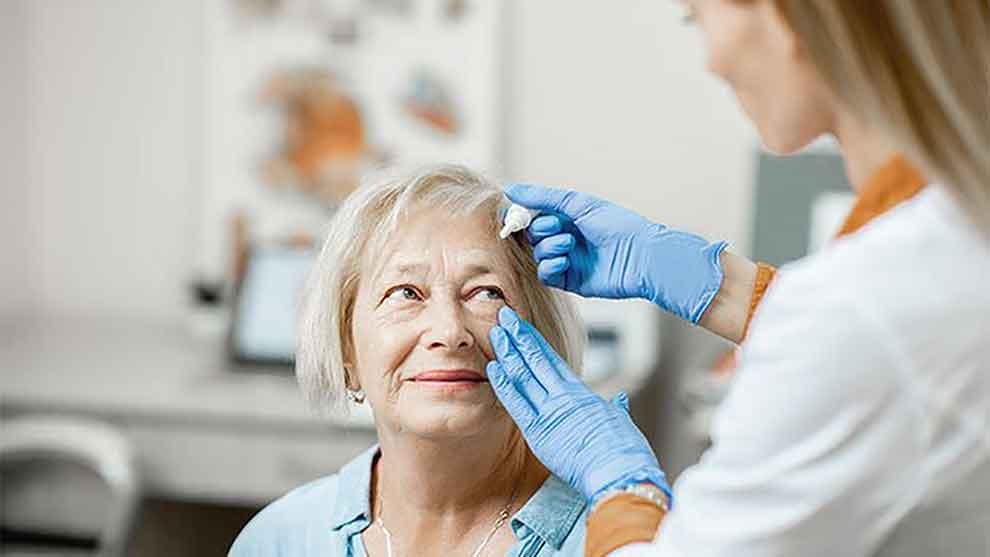 Diabetic eye exam in texas