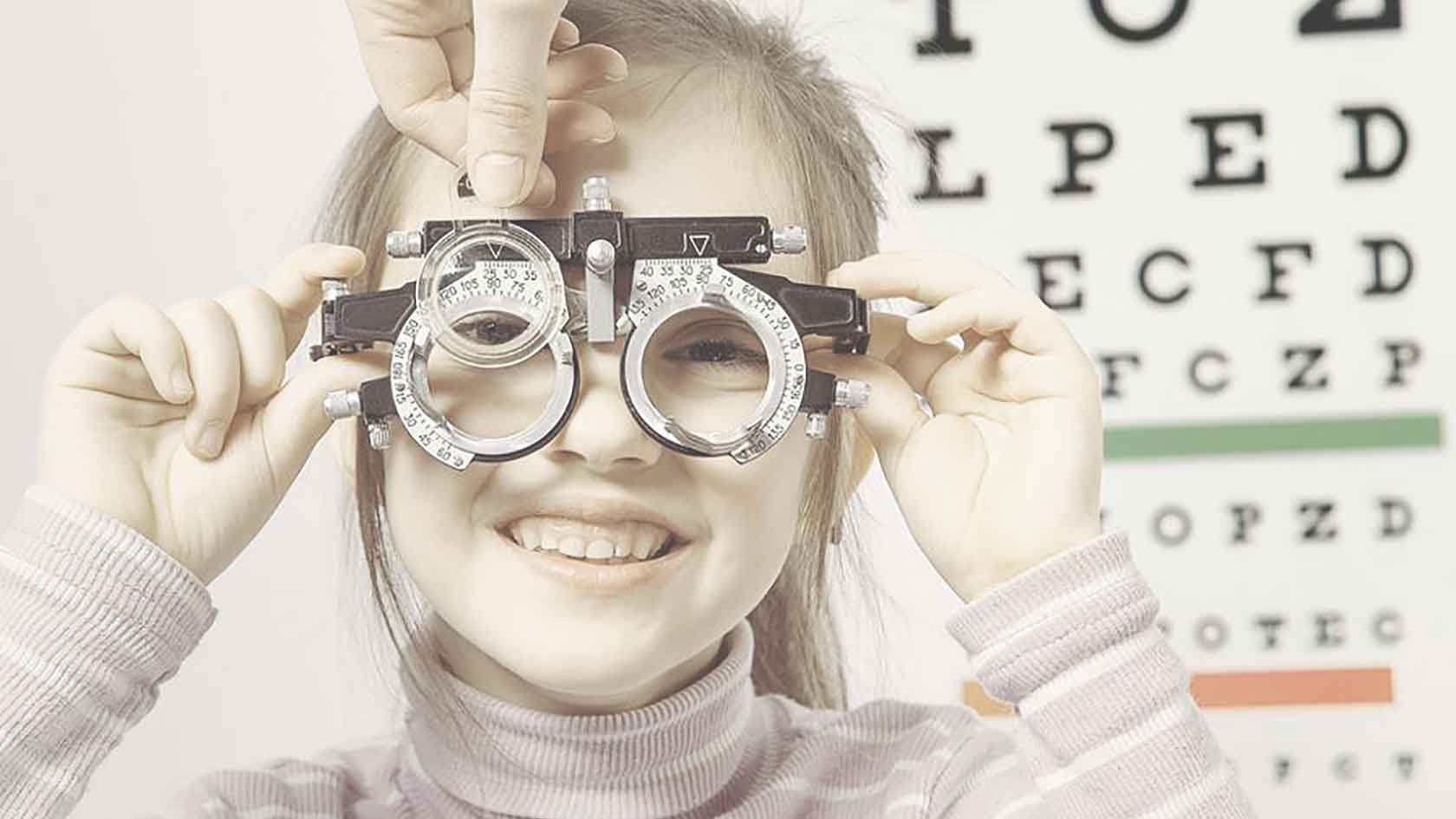 child eye care in texas