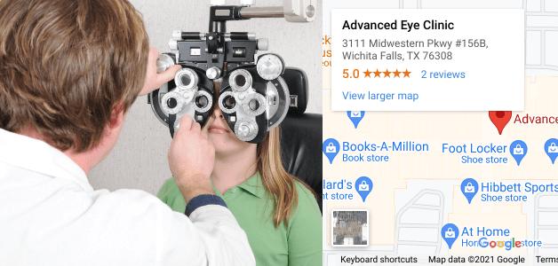 eye exams & contact lens exams in wichita falls tx